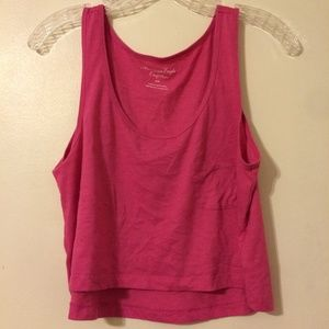 American Eagle Pocket Crop Tank